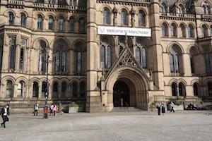 Bezienswaardigheden Manchester Town Hall